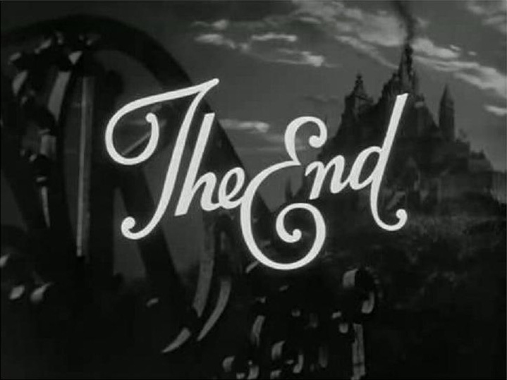 The End: why is it so hard to get the ending right?