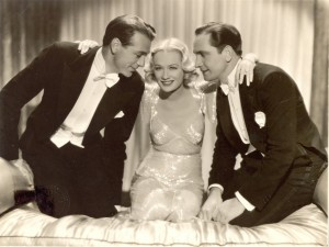Design for Living (1933): She can't choose, so she lives with both men