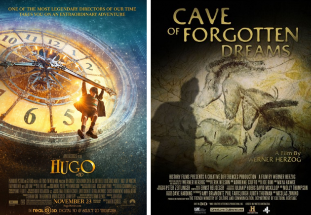 Hugo 3D and Cave of Forgotten Dreams