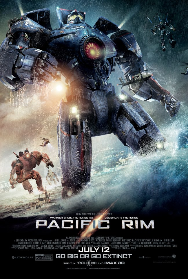 Pacific Rim Official Poster